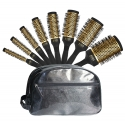 Set 8 brosses thermix or + trousse