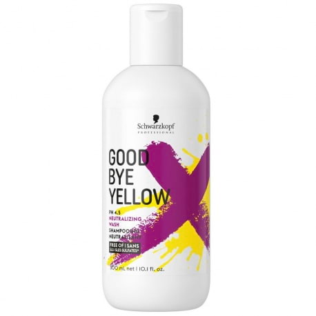 Shampoing déjaunissant Goodbye Yellow
