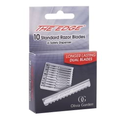 Lot de 10 lames de rasoir The Edge