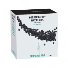 Perles de cire au charbon Epil'hair pro