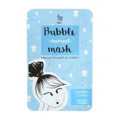 Masque en tissu moussant au charbon Bubble Charcoal Mask